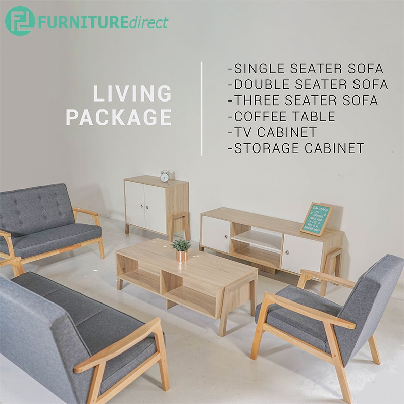 ALISA 6 PIECES LIVING PACKAGE(available in klang valley only)