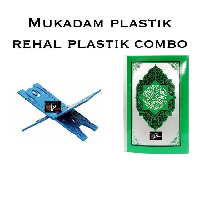 Mukadam plastik + Rehal plastik (COMBO!!)