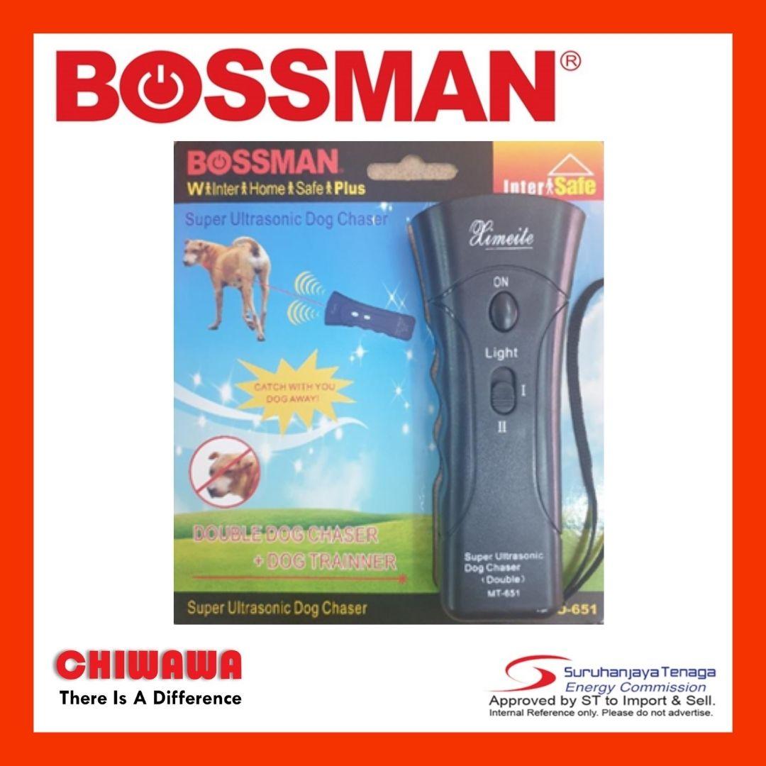 BOSSMAN Dog Repellent Model BO651 / Super Ultrasonic Dog Chaser