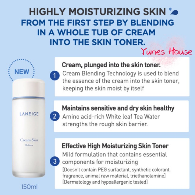 Cream Skin Toner & Moisturizer by Laneige #9