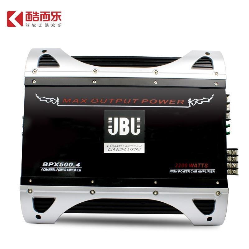 4 Channel 12v Car Power Amplifier 3200w speaker
