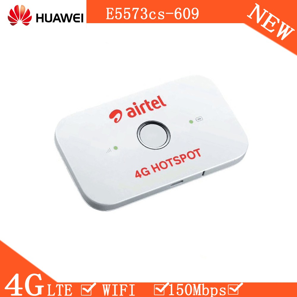 READY STOCK E5573 E5573CS-609 4G LTE Portable Modem WIFI MIFI ROUTER