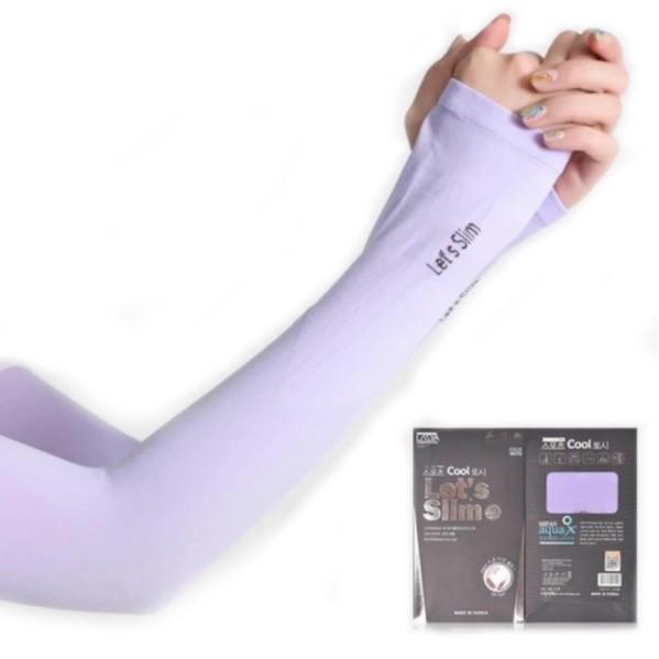 Ice Skin Unisex Spandex Outdoor Arm Sleeve - Purple/Aqua/Grey/Black