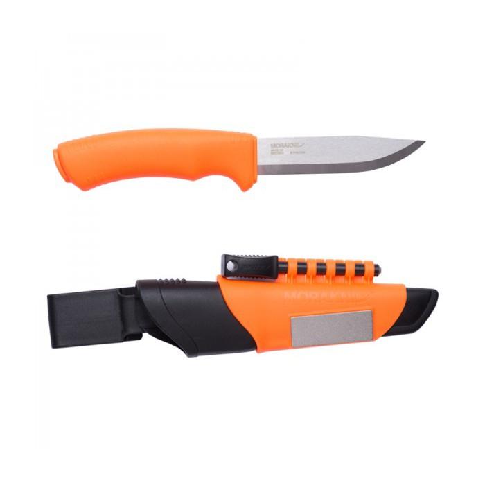 Bushcraft Survival Hi-Vis Orange (S) Outdoor Knife 12051