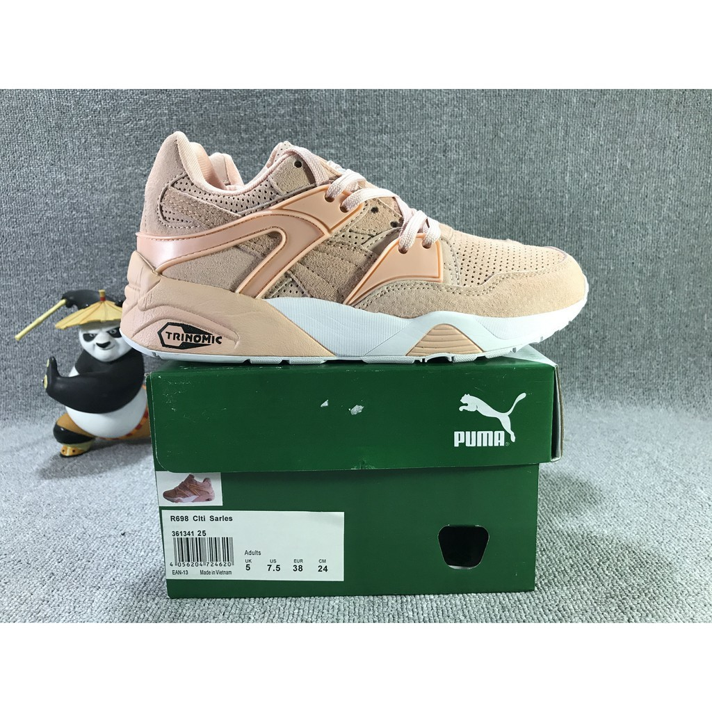 magasin en ligne 7ae40 c6d7a original PUMA Trinomic Blaze X R698 PINK WHITE COLOR for women outdoor  shoe36-40