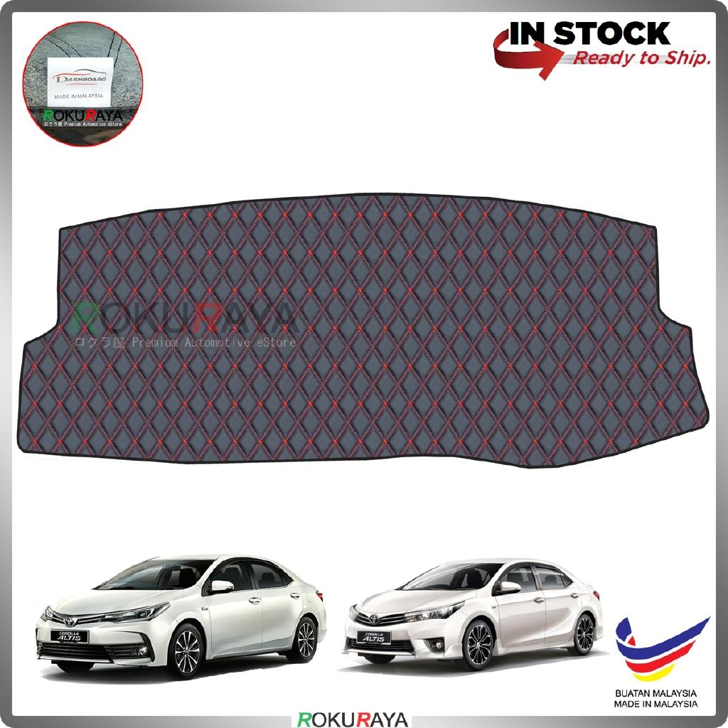 Toyota Corolla Altis E160 E170 (11th Gen) 2014-2019 RR Malaysia Custom Fit Dashboard Cover (RED LINE)