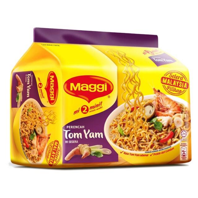 Maggi Instant Noodles Tom Yam (80g x 5)
