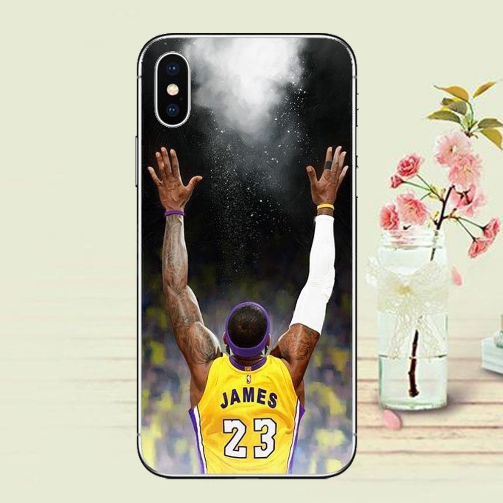 903f465982100 Lebron James Mvp Los Angeles Star Clear Ultrathin Shockproof Soft TPU Phone  Case Cover