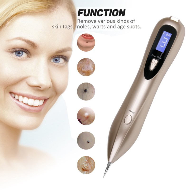 Lcd Laser Plasma Pen Skin Care Dark Spot Mole Remover Facial Freckle Mole Tattoo Removal Machine Tag Wart Removal Pen Shopee Malaysia
