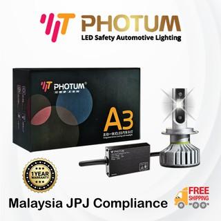 Carinn 360 Degree Led Bulbs 5300k 2800lm H1 H3 H4 H7 H11 9005 9006 9012 Head Lamp Fog Light Projector Light Shopee Malaysia