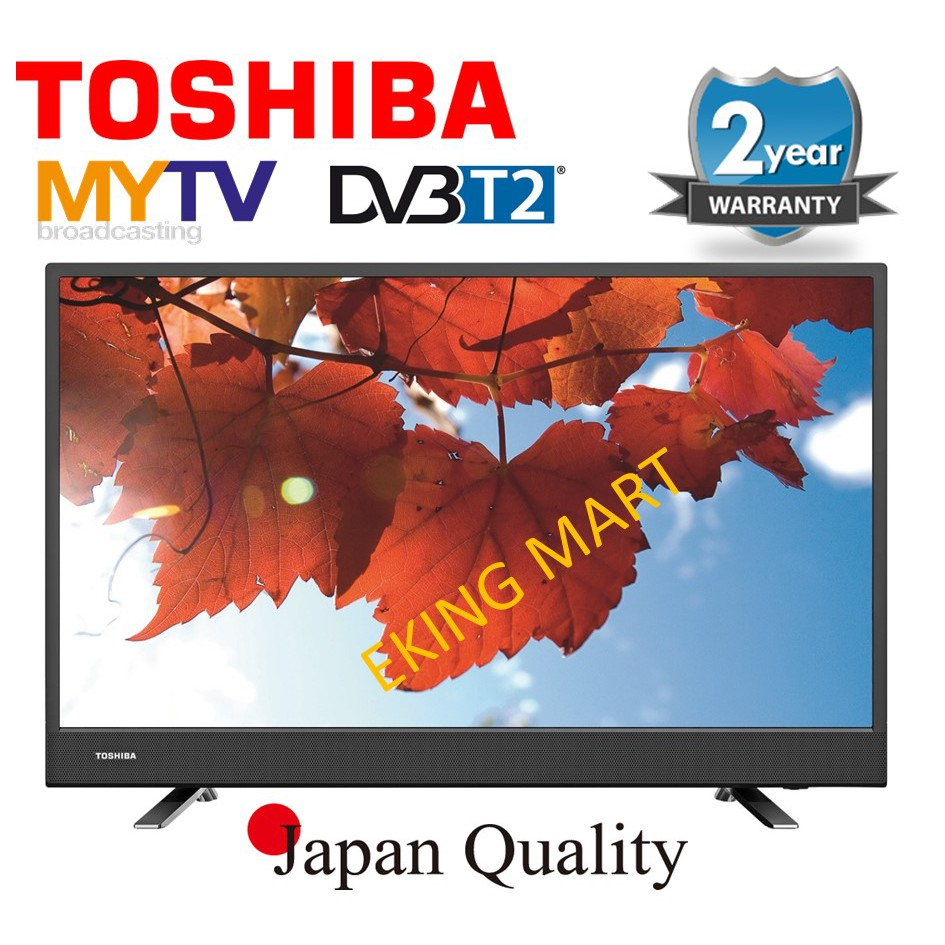 "Toshiba Japan 40"" FULL HD DVB-T2 Digital Tunar LED TV 40"" 40L3750VM With 2 Year On-site Warranty (Buit In MYTV)"