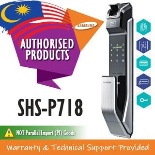 Samsung Door Lock SHS-P718 PUSH PULL Fingerprint Doorlock | Shopee
