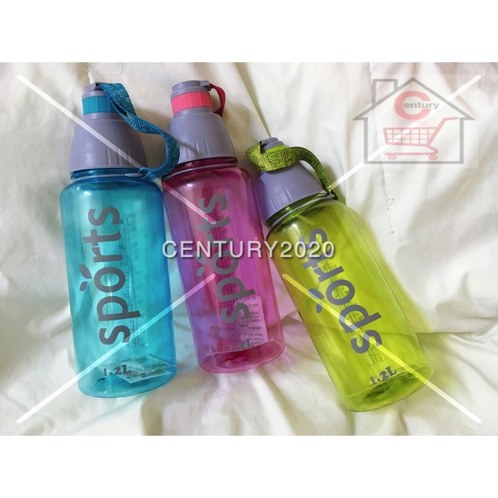 RIMEI Sports Water Bottle Double Mouth Leak Proof Space Cup Travel Mugs With Strap Outdoor Travel Portable Bottle 34oz
