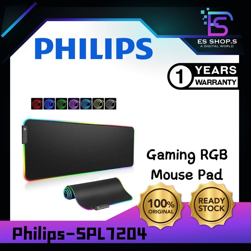 Philips Gaming RGB Mouse Pad SPL7204 (L204)