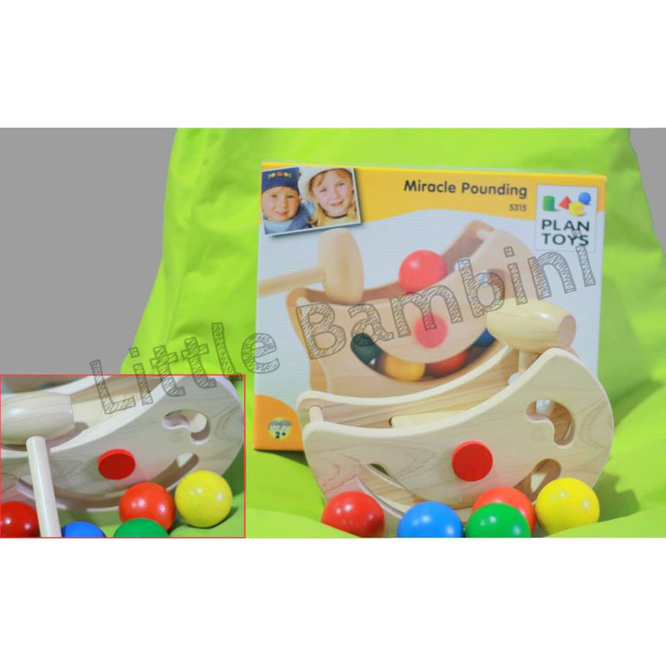 plantoys db 5315 : plan toys miracle pounding (2y+)