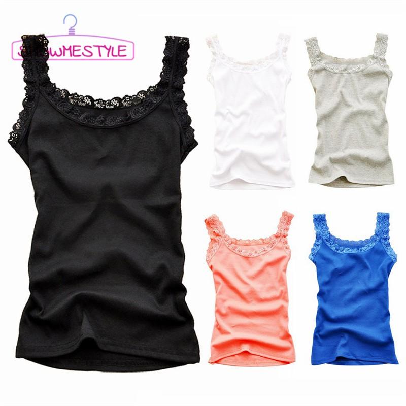 Women/'s Crop Top Sleeveless Summer Casual Tank Tops Vest Blouse T Shirt FW