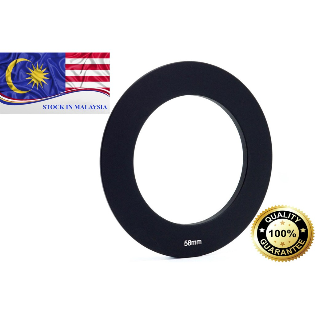 58mm Metal Adapter Ring for Cokin P Series (Ready Stock In Malaysia)