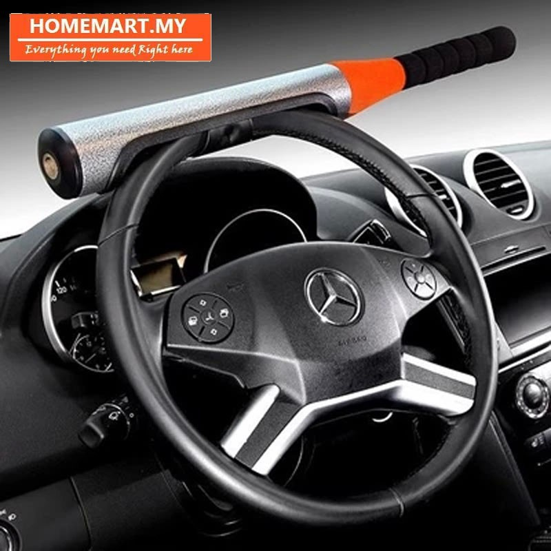 Car Anti Theft >> Hm Self Defense Baseball Bat Car Anti Thief Steering Lock