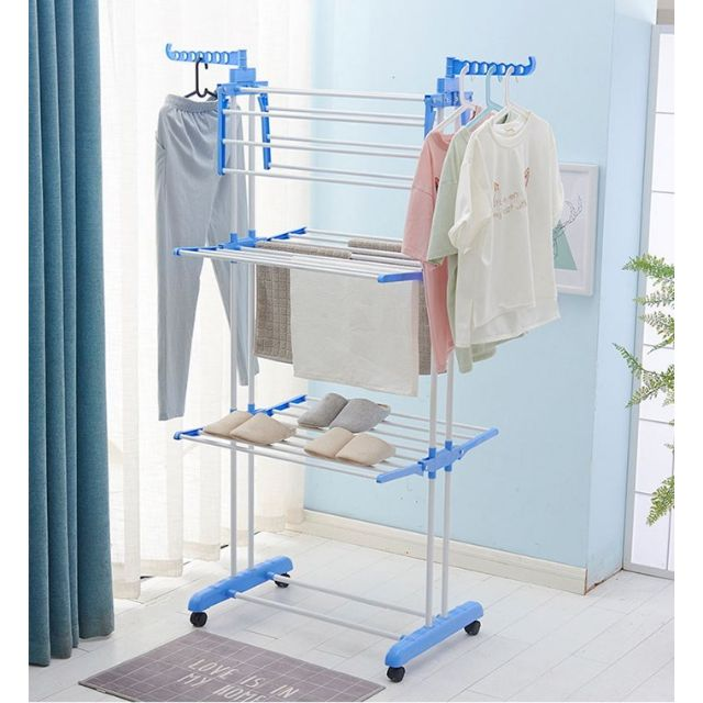 Clothes Drying Rack Readystock Shopee Malaysia