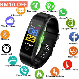 Couples Smart Watch Blood Pressure Fitness Tracker Sport Watch ios android +BOX | Shopee Malaysia