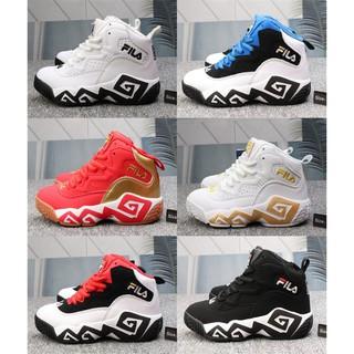 074607e9e724 FILA BB shoes black and white wild sports casual MB men and