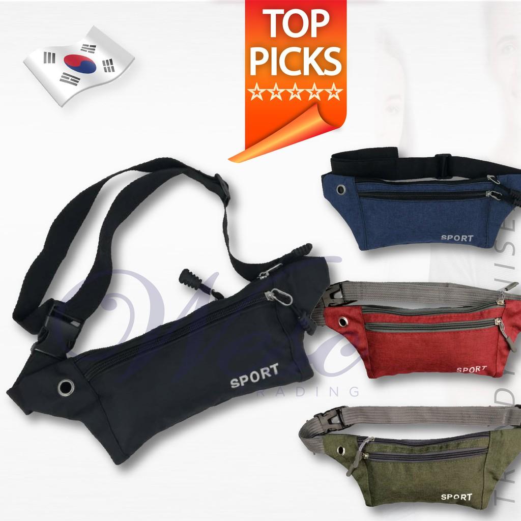 Korean Sport Fashion Waist/Chest Pouch (Versatile Model)