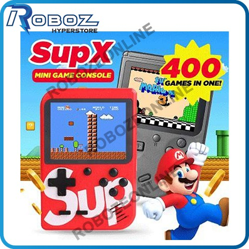 READY STOCK 400 in 1 Portable Game Boy Console Retro Game Super Mario, fighter and play at TV