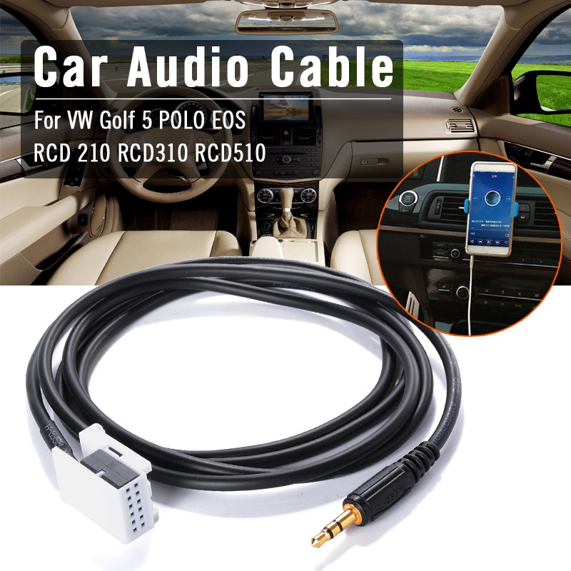 Aux Switch + Wire Cable Adapter for VW Golf MK6 Jetta MK5 RCD510 RCD310 AC518   Shopee Malaysia
