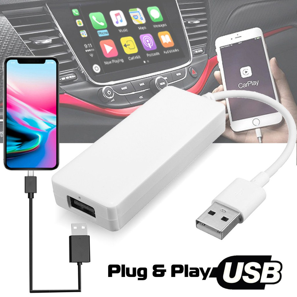 USB Dongle For Apple iPhone Carplay Android Car Navigation Player Headunit