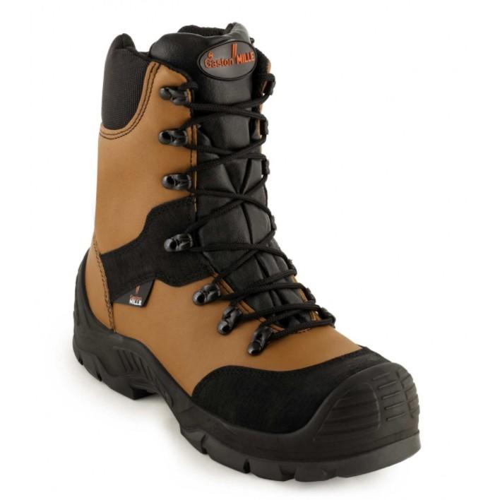 63cbe20110f Gaston Mille Master Brown Men's Safety Boots