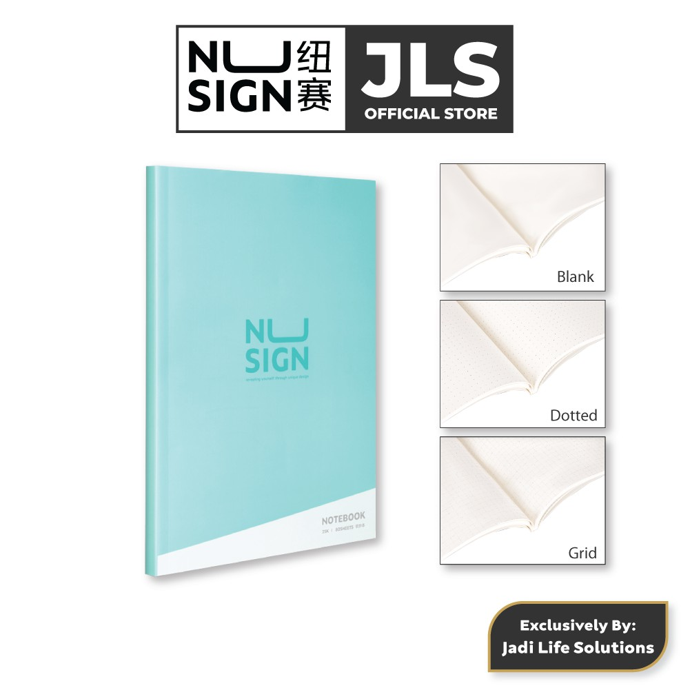 Jadi Nusign Multipurpose Notebook in Lagoon Blue