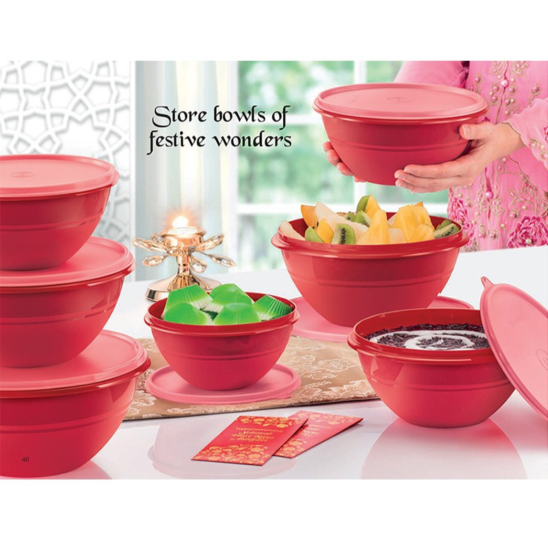 [OFFER] Tupperware Brands - Wonderlier Bowl Set