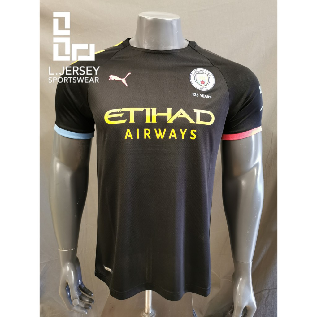 Manchester City Men Away Season 19/20 Fans Jersey