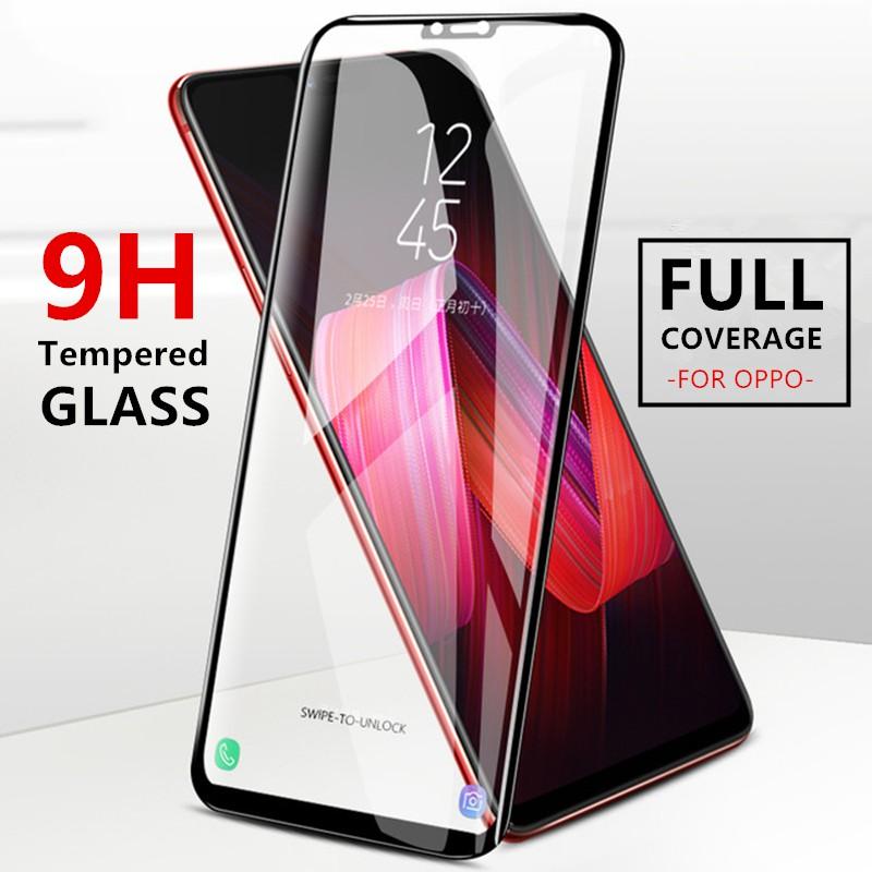 Tempered Glass For OPPO A3S F1S F5 F7 F9 A37 A57 R9 A77 9H Screen Protector  film