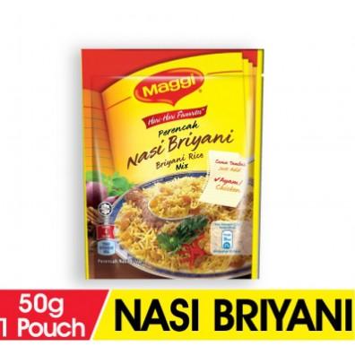Maggi Nasi Briyani Recipe Mix 50g Shopee Malaysia