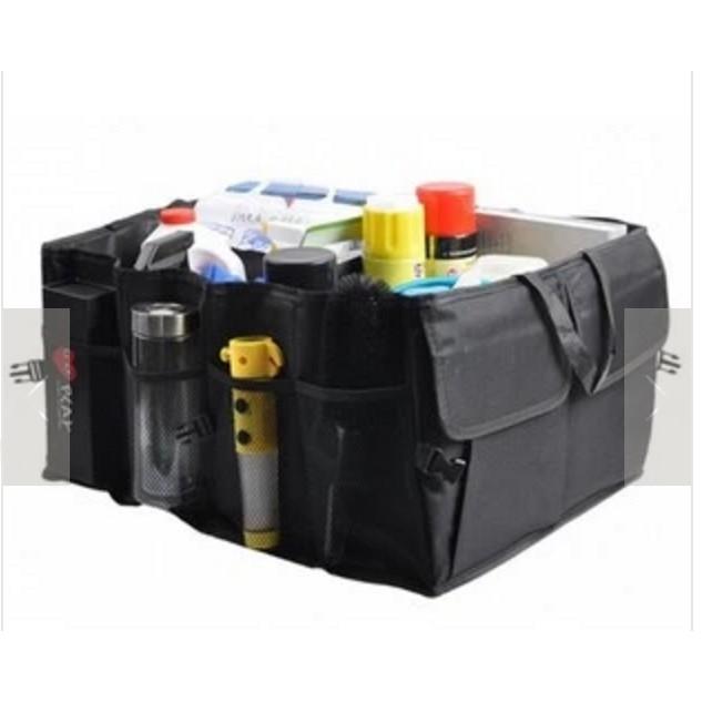 Foldable Multi-Pocket Car Vehicle Trunk Storage Bag Pouch Boot Organizer