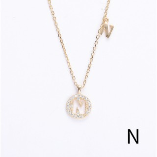 18-Inch Rhodium Plated Necklace with 4mm Faux-Pearl Beads and Sterling Silver Saint Nathanael Charm.