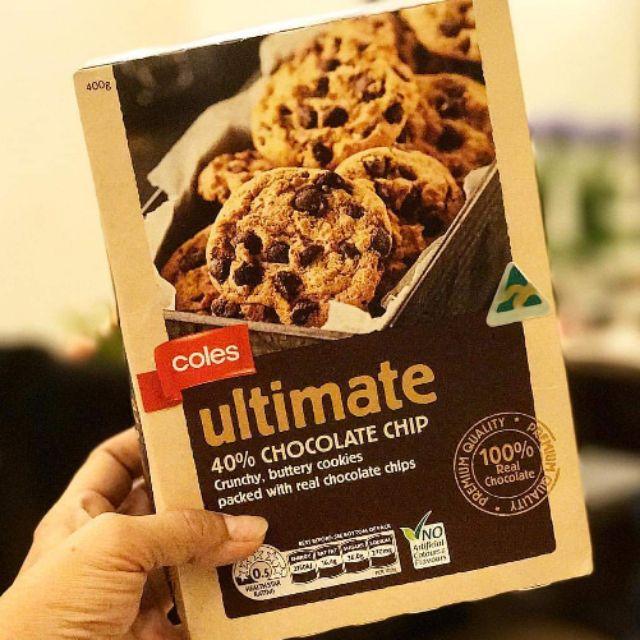 Ultimate Coles Cookies 400g