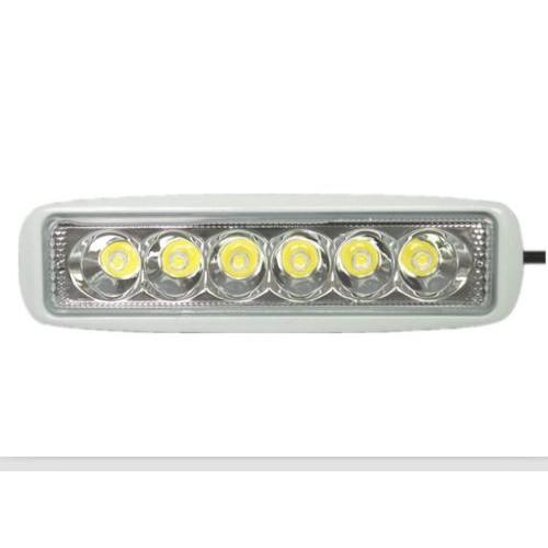 Waterproof Boat LED T-Top 12V White Marine Spot Lights Bar Set of 2 18W