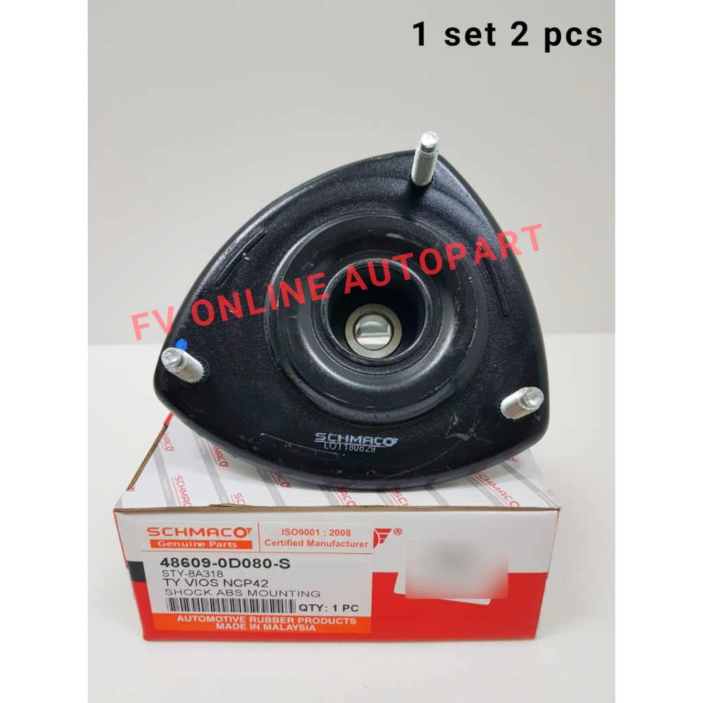 SCHMACO ABSORBER MOUNTING,TOYOTA VIOS NCP42