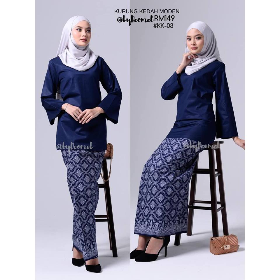 Baju Kurung Kedah Exclusive Shopee Malaysia