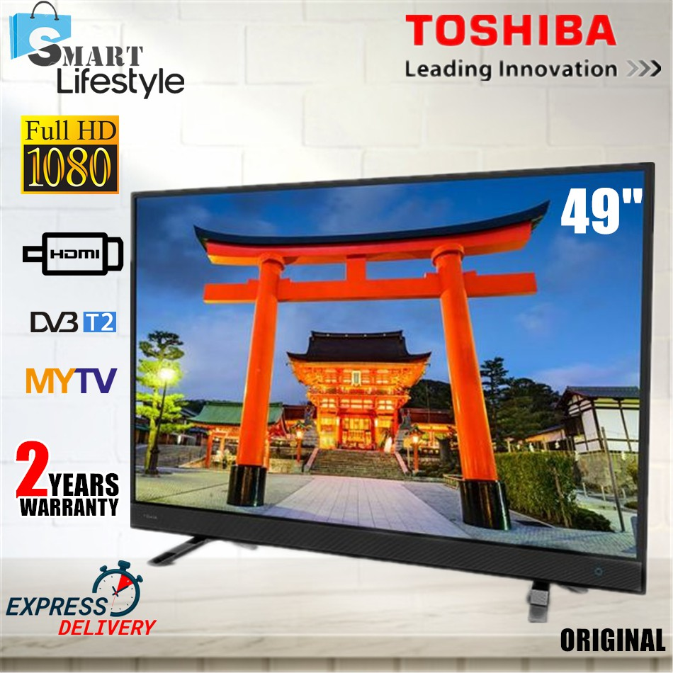 TOSHIBA 49inch 4K UHD WEB VIDEO LED TV 49U4750VM With Wifi Netflix Youtube