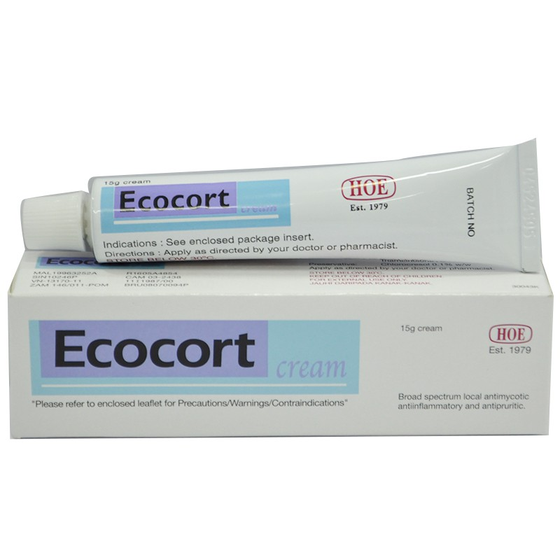 Ecocort Cream 15g