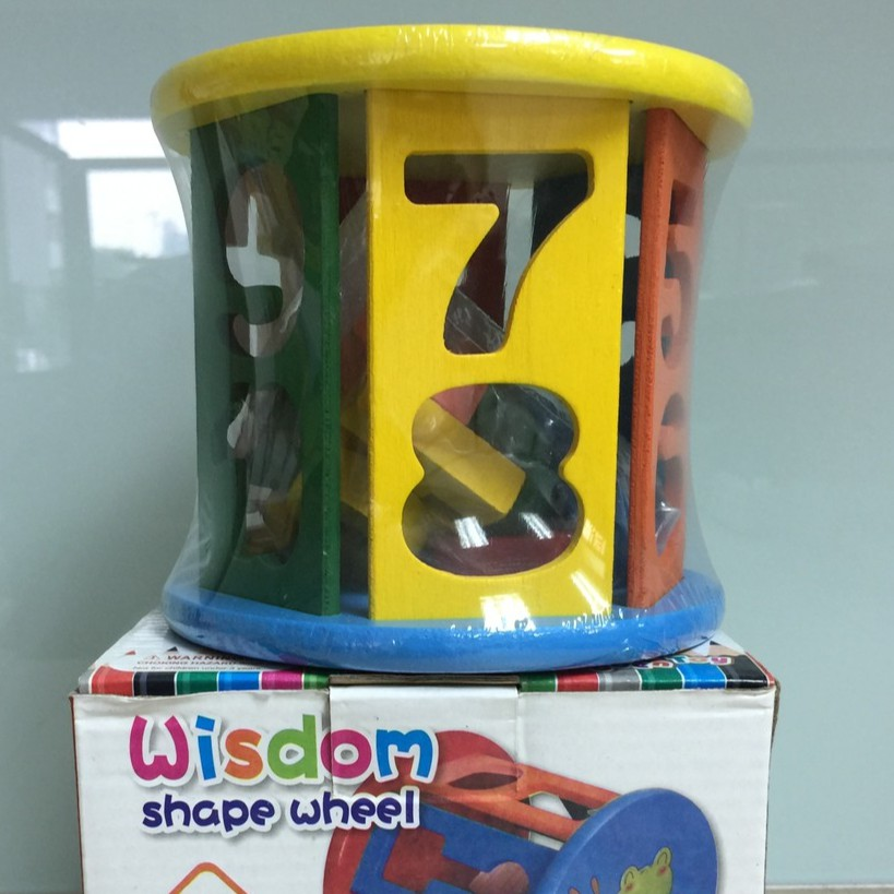 Wisdom Shape Wheel (Numbers)