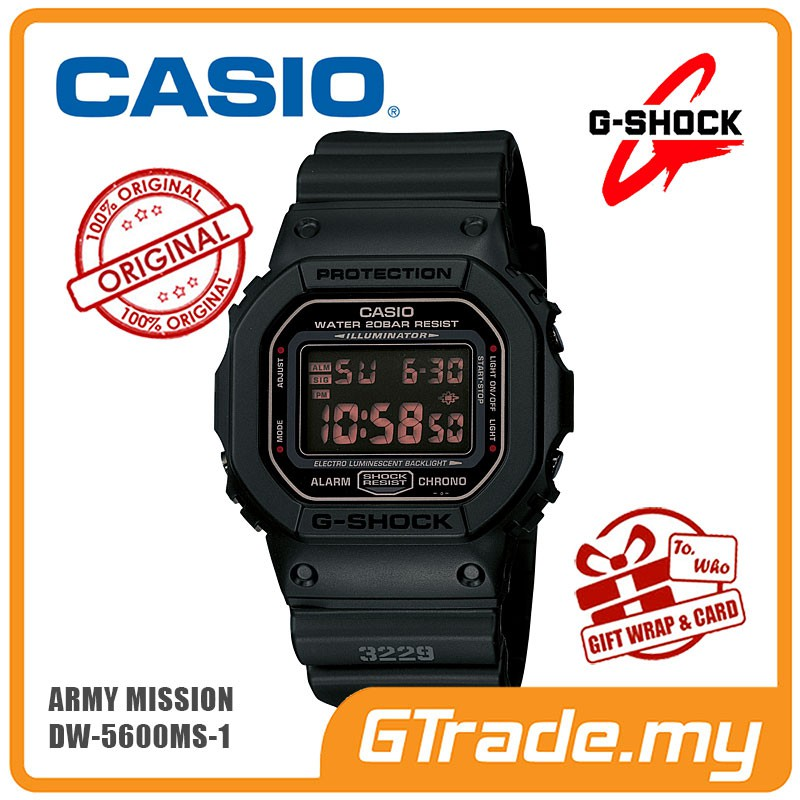 CASIO G-SHOCK GD-350-1B Digital Watch  51d4ac6d26