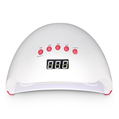 (CLEARANCE) UV - 0148 49W UV LED Light Gel Nail Manicure Timer Painless Magnifier Lamp Motion Detector