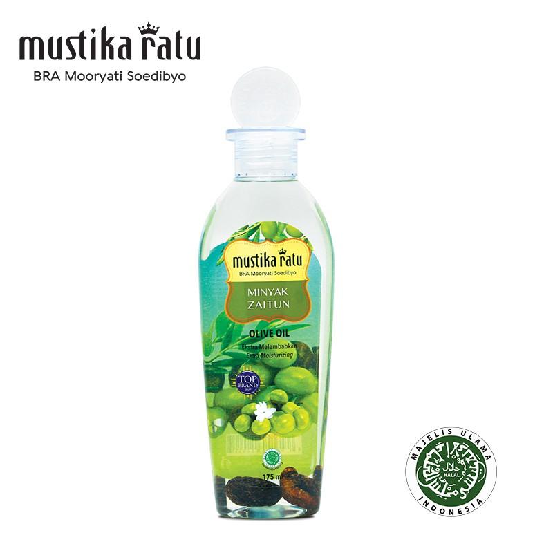 Mustika Ratu Minyak Zaitun For Moisturize & Freshen Skin - Kulit Kering & Bersisik (175ml)