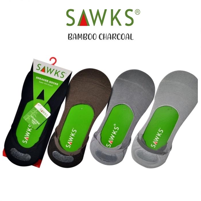 MALAYSIA- STOKIN LELAKI BULUH Bamboo Men's Ultra Low Cut Sneaker Foot