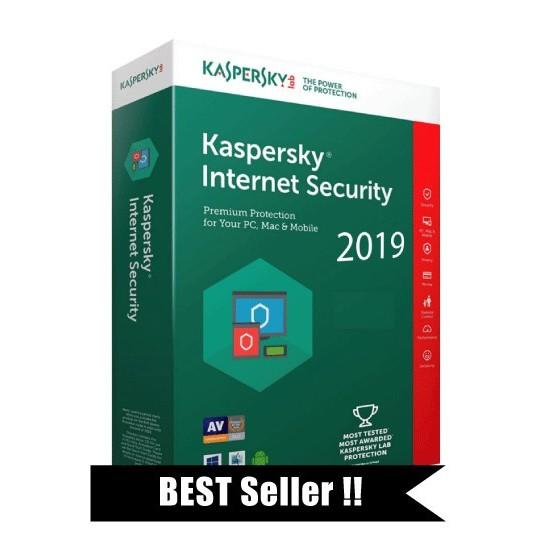 (3PC) 2019 Original Kaspersky Internet Security 1 Year 3 PC