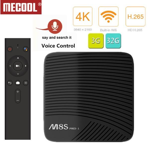 [SE] Mecool M8S PRO L 4K TV Box Amlogic S912 Cortex-A53 CPU Bluetooth 4 1+  HS